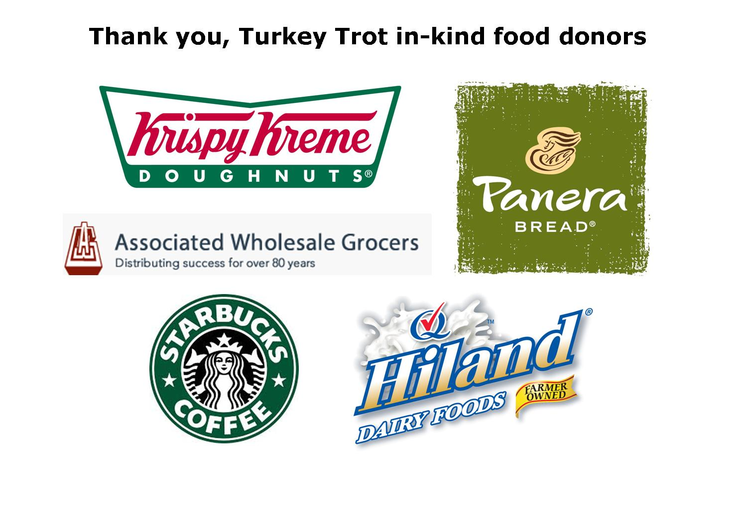 In-kind Food Donors