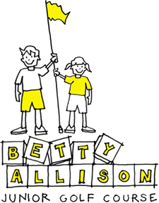 Betty Allison Junior Golf Course Logo