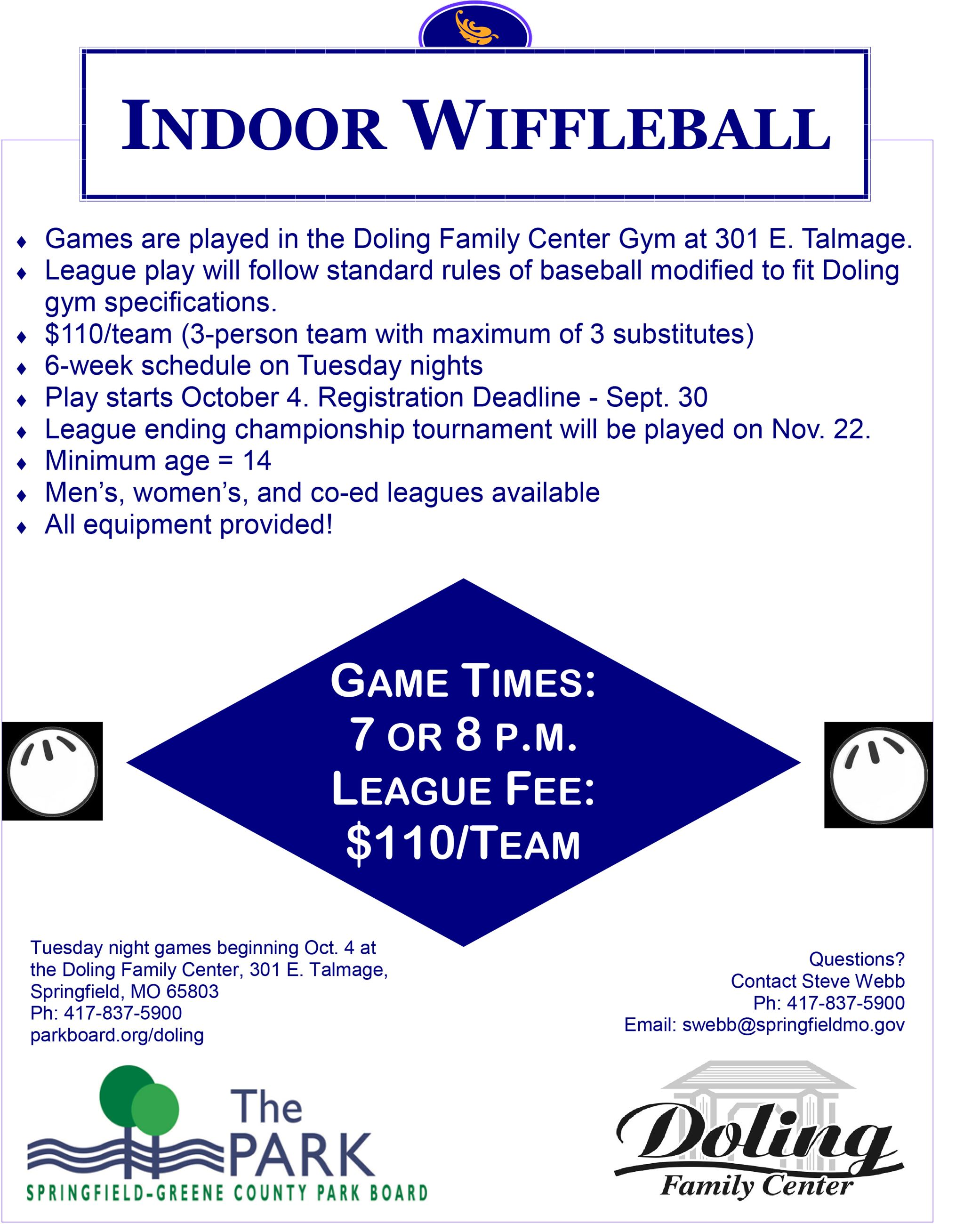 2016 Fall Wiffleball Flyer
