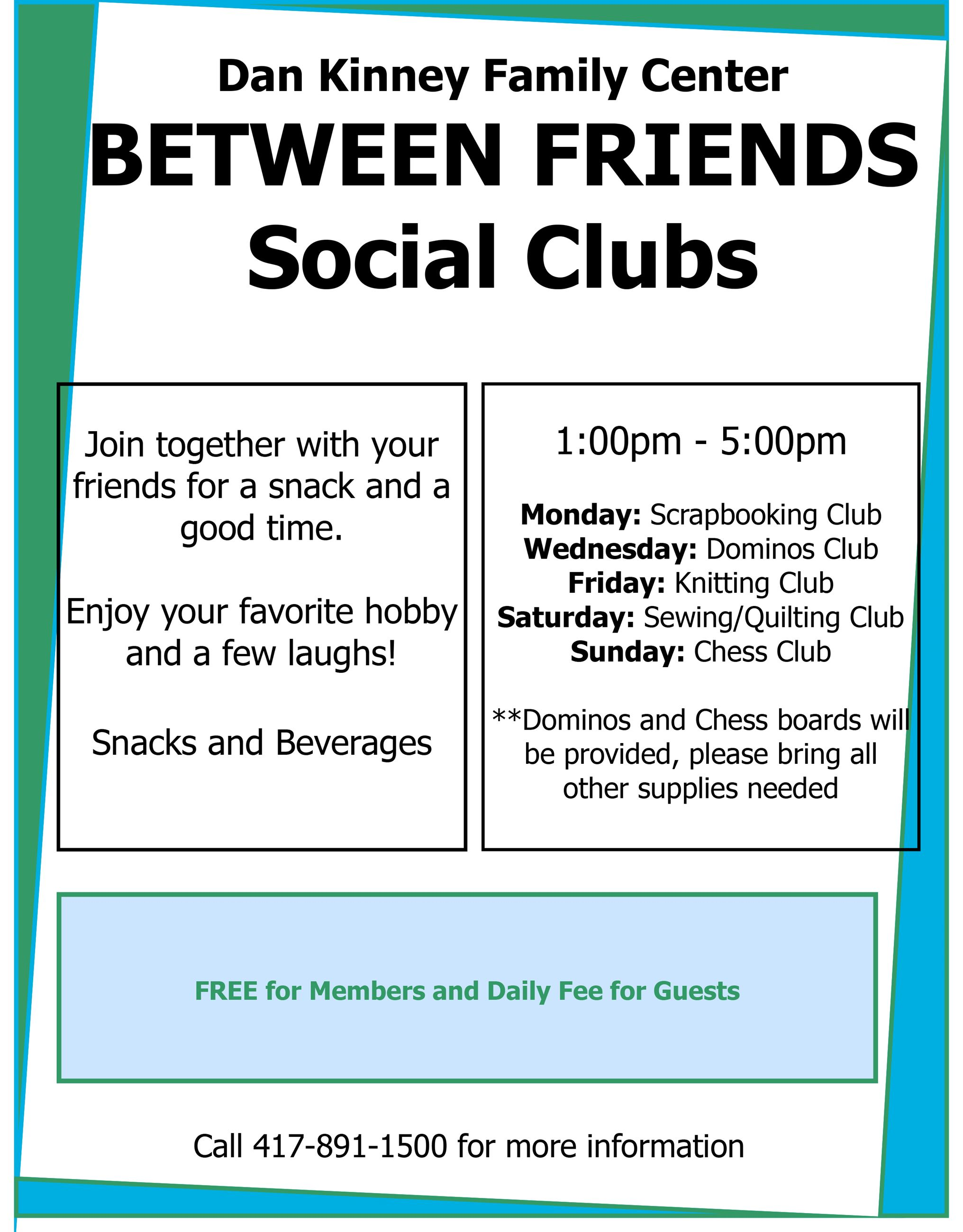 Between Friends Social Clubs (PDF)