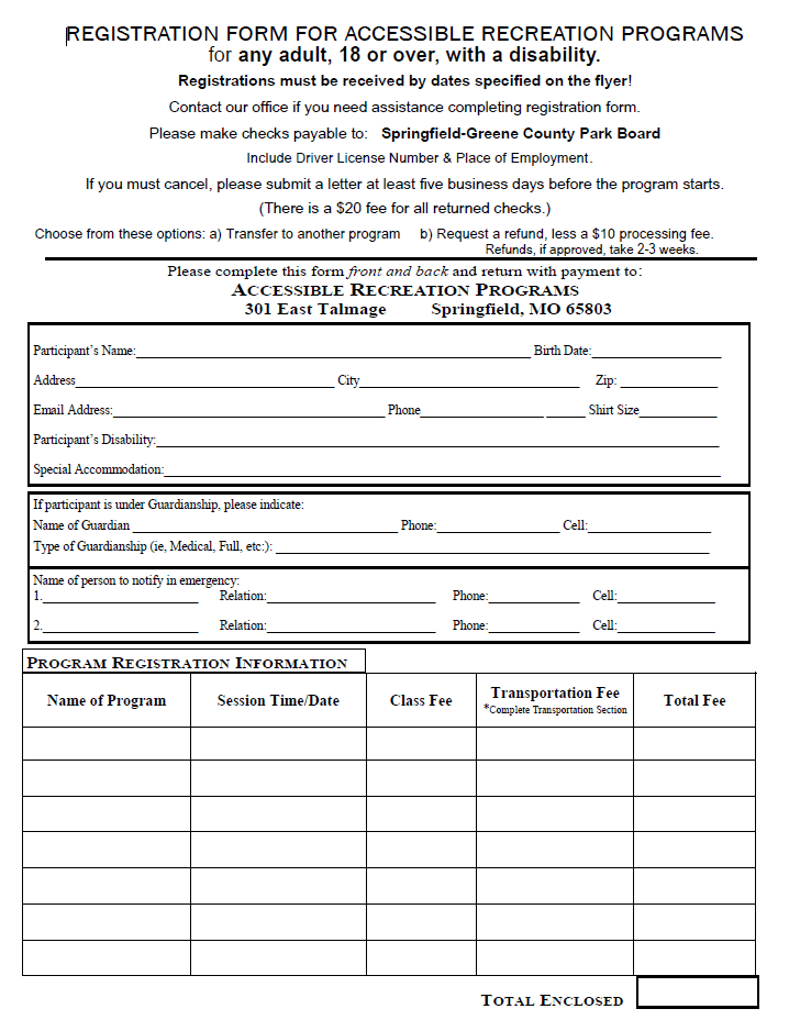 Registration Form Preview