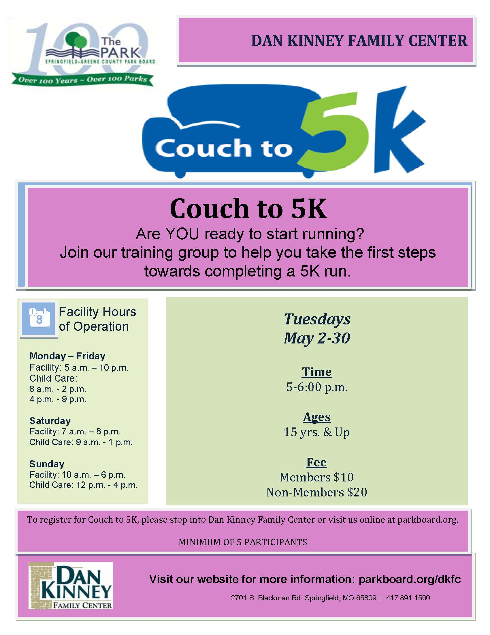 Couch to 5K Summer 17