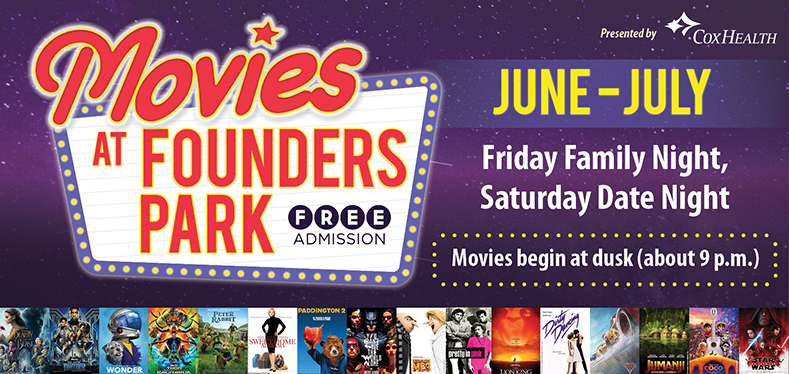 Movies At Founders Website Header