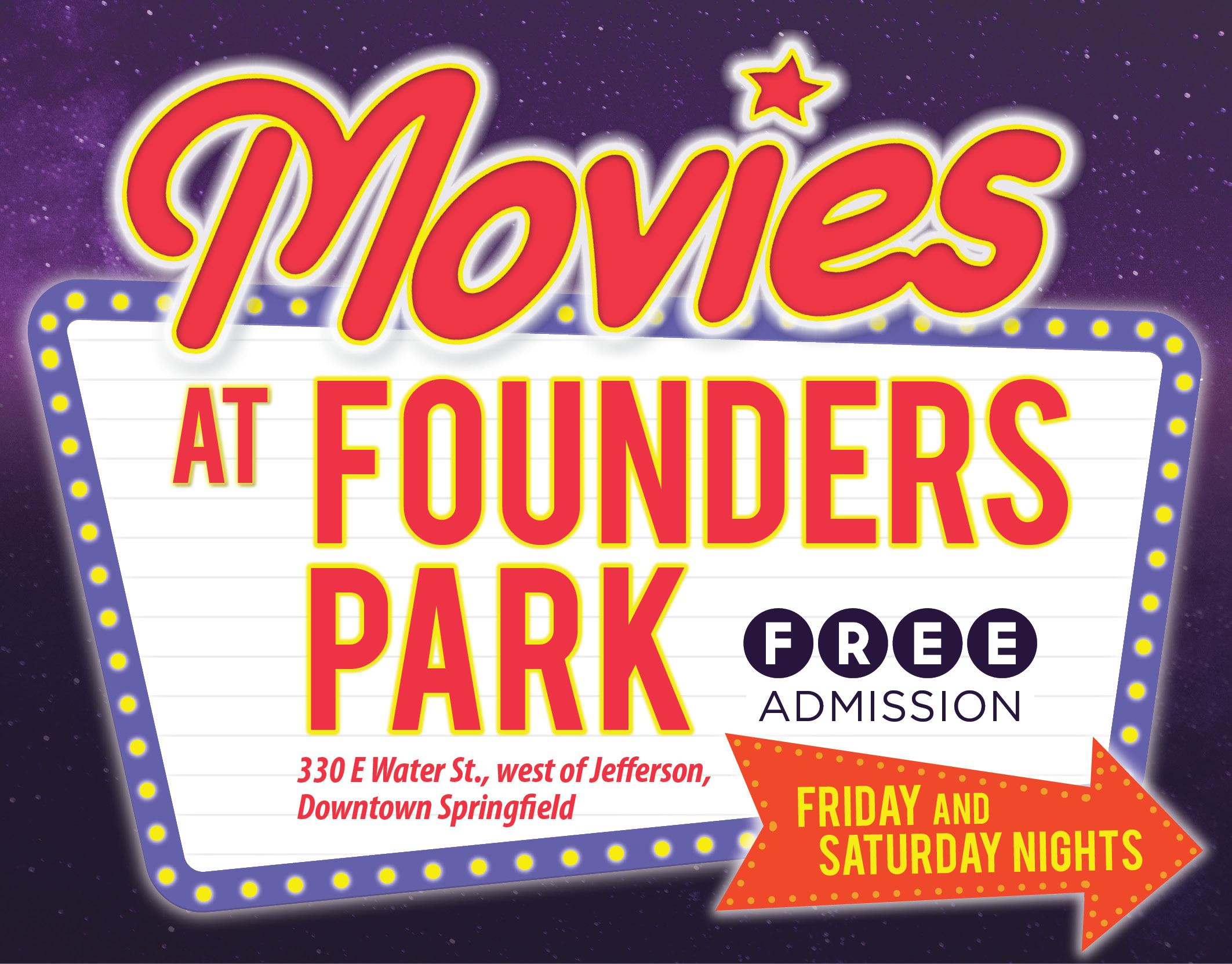 Movies At Founders Events