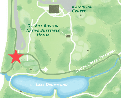 Rose Garden Tour Map