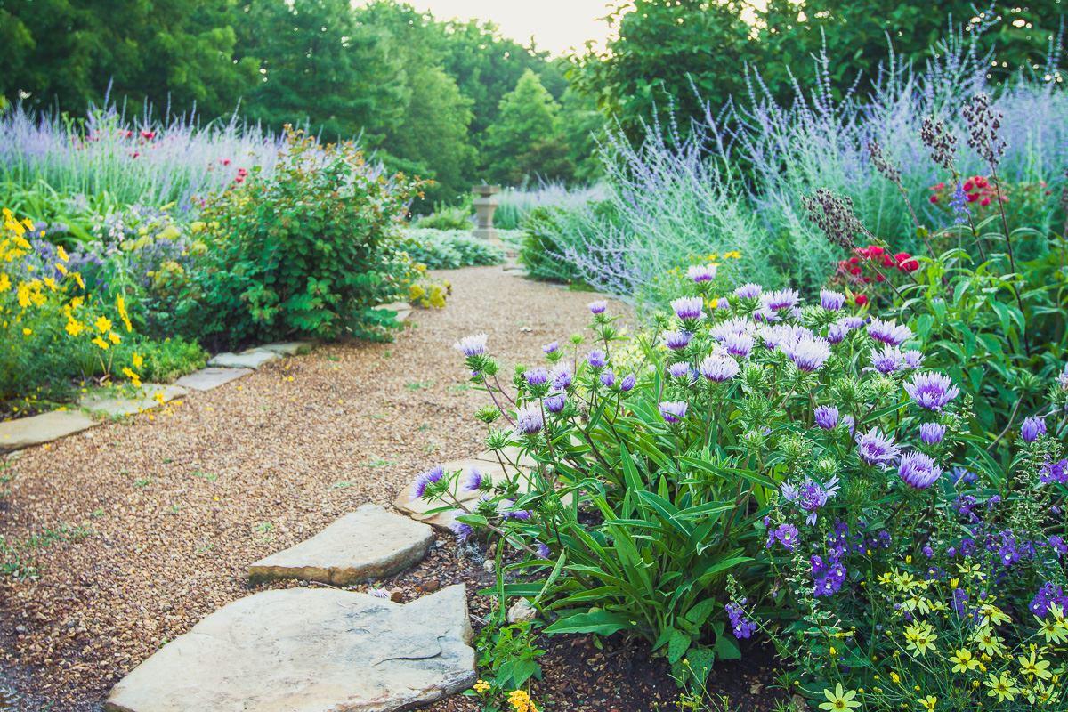 English Garden Springfield Greene County Park Board
