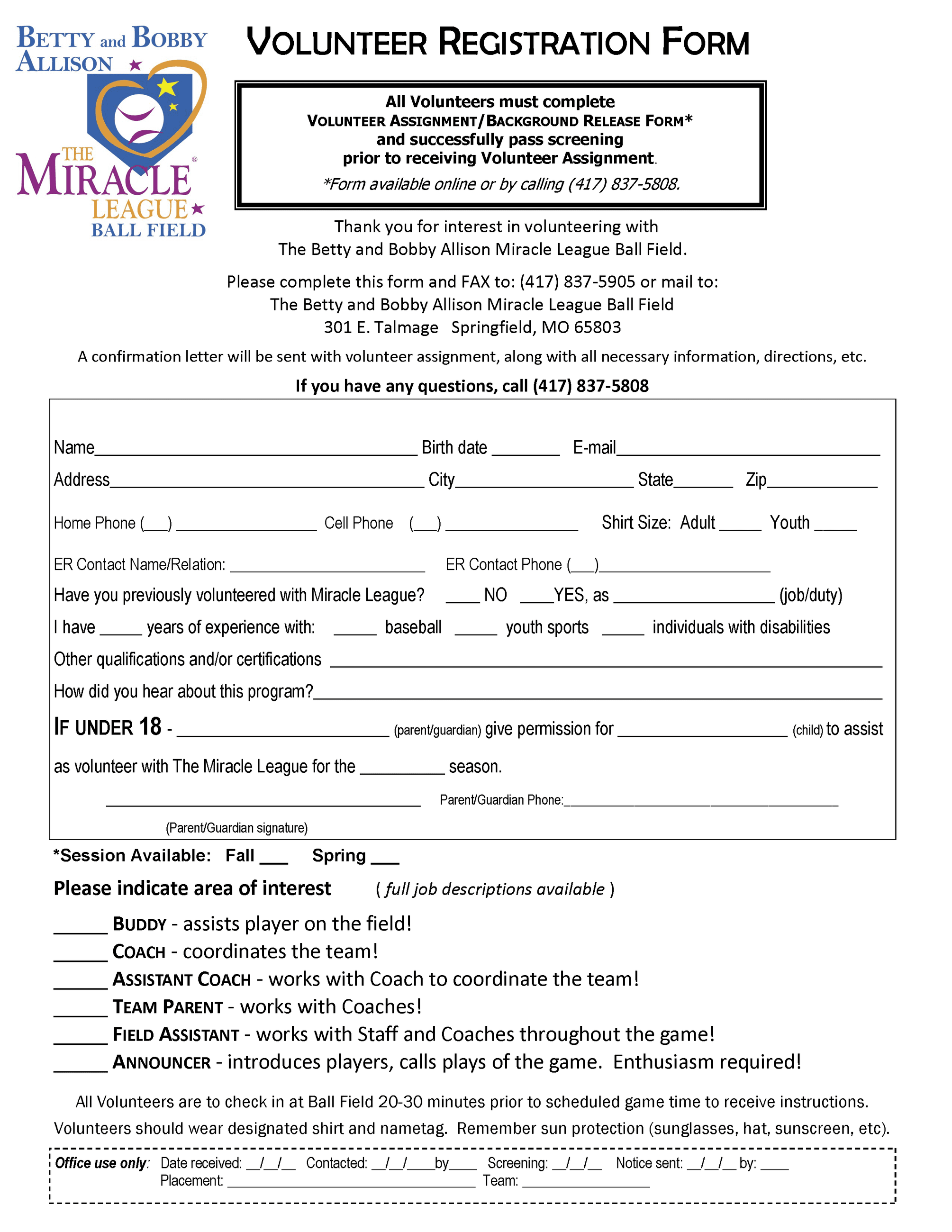 Volunteer Registration Form_201607281822099951