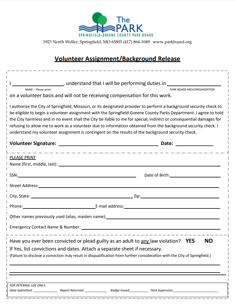Volunteer Release Form_201703231511478588