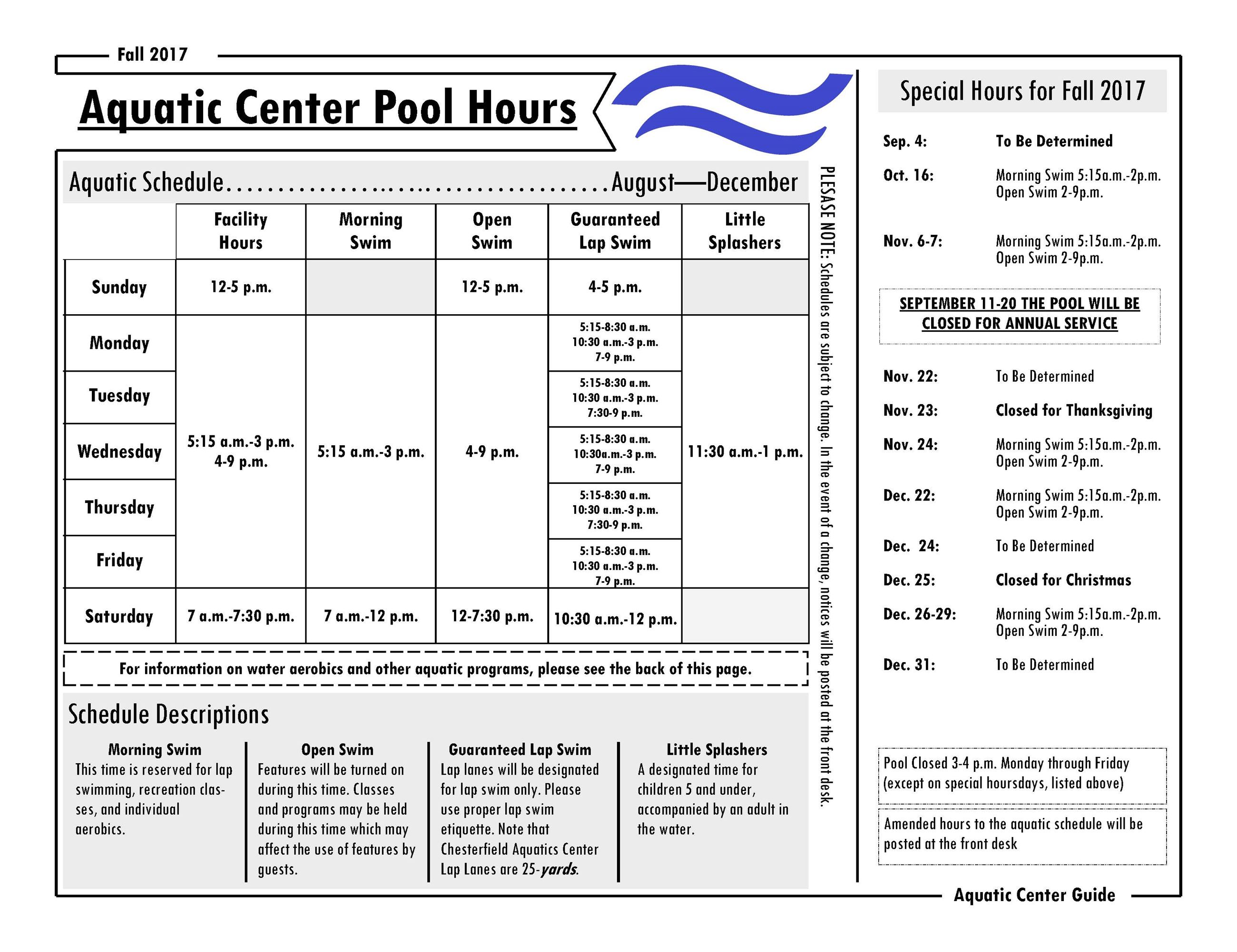 Chesterfield indoor aquatic center springfield greene county aquatic center guide fall 2017page1 1betcityfo Image collections