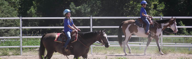 Valley Water Mill Park Equestrian Center Kids Riding Horses
