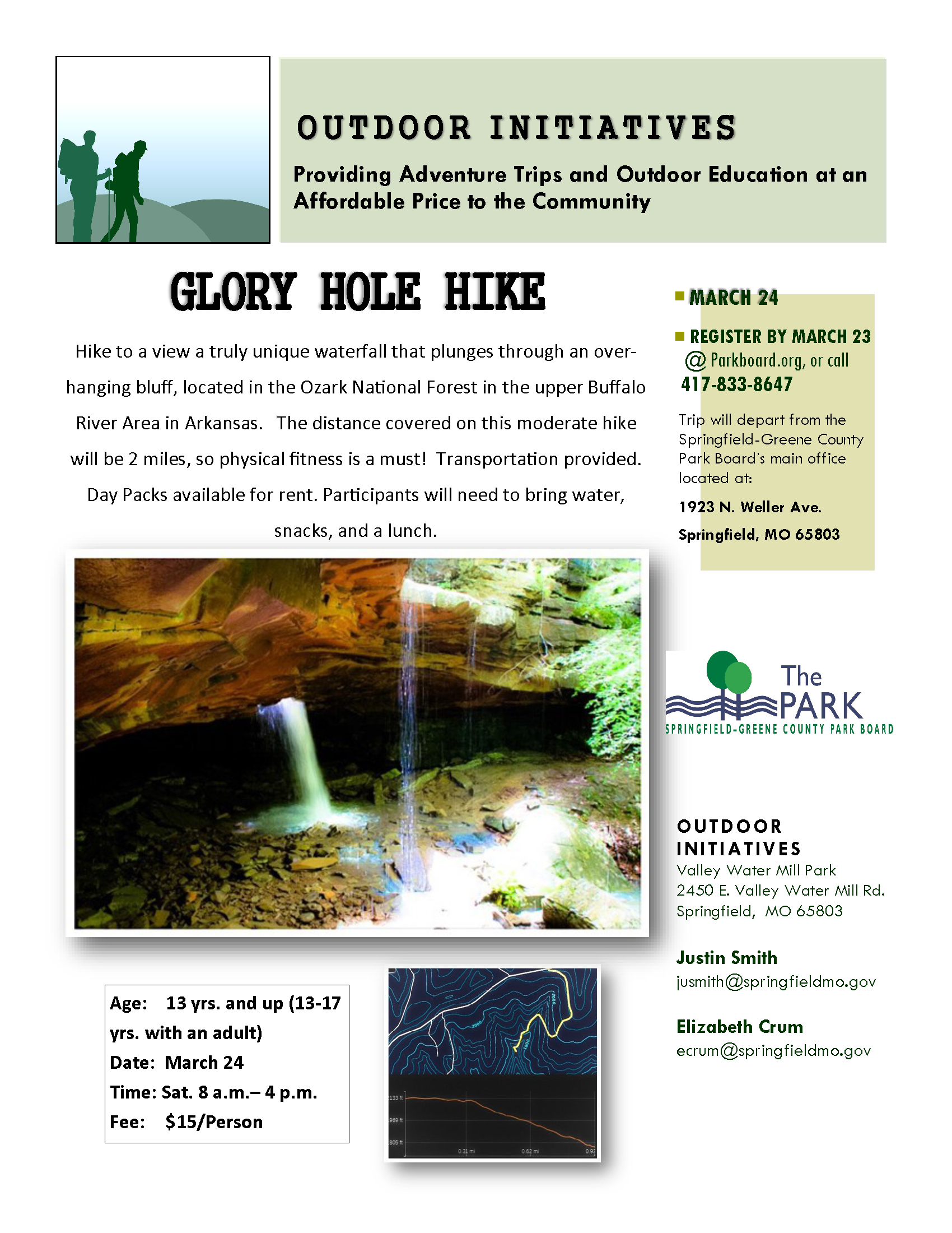 Glory Hole Hike