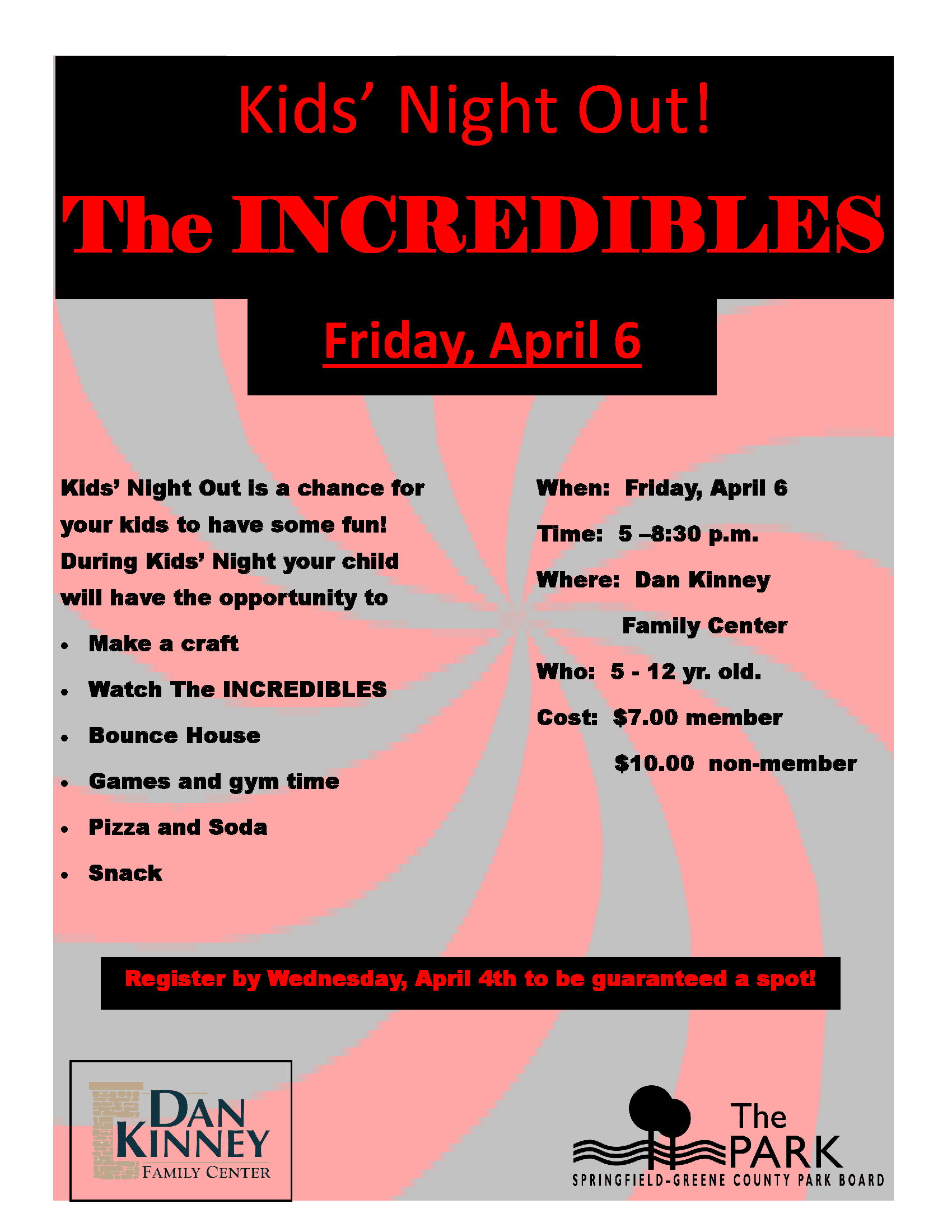 Kids Night - The Incredibles