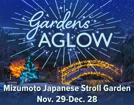 Gardens Aglow 2019 Web Event Graphic