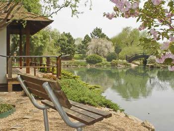 Photo gallery slideshow Mizumoto japanese stroll garden