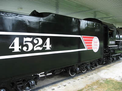 Restoration of Locomotive 4524