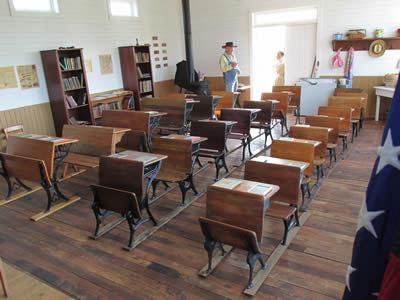 Gray-Campbell Farmstead - Inside Liberty School 4
