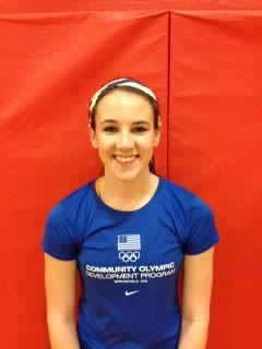 Laynie Dake - Mount Vernon High School - Middle Blocker